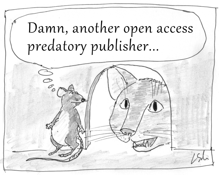 Searching for predatory journals and publishers with R